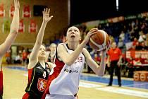 JDOU NA TO. Basketbalistky Nymburka čeká finálová bitva, ve které se postaví družstvu USK Praha