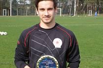 JOSEF PETLIČKA, útočník Ostré, se stal nejlepším fotbalistou okresu pro rok 2013. Od čtenářů Nymburského deníku dostal nejvíce hlasů