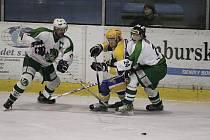 Z utkání druhé hokejové ligy Nymburk - Trutnov