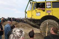 Otevřené mistrovství ČR Truck Trial 2012 na Božím Daru u Milovic