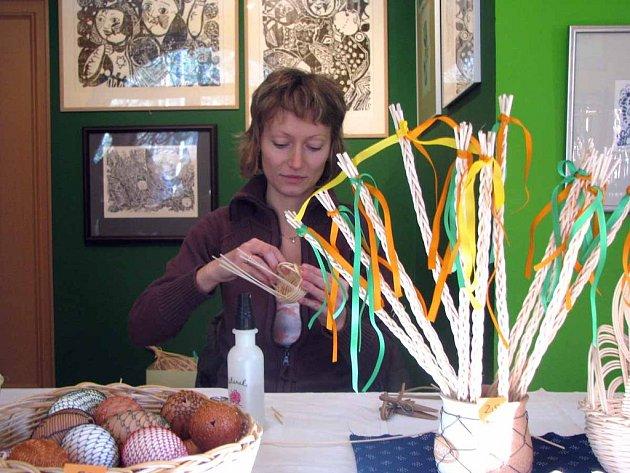 V Lesním ateliéru Kuba v Kersku začala výstava Velikonoce