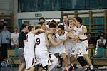 MISTŘI. Basketbalisté Nymburka kategorie U17 vyhráli republikový šampionát.