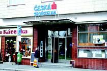 Česká spořitelna na náměstí v Sadské