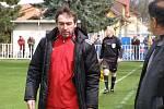 Z divizního fotbalového utkání Čelákovice - Brozany (0:0)