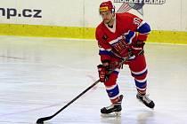 Z utkání druhé hokejové ligy Nymburk - Pelhřimov (4:1)