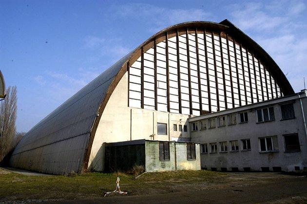 Poděbradský zimní stadion.
