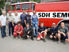 Nová hasičská liazka SDH Semice.