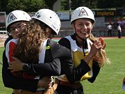 Děvčata z Pískové Lhoty přivezly ze Švýcarska stříbrné medaile.