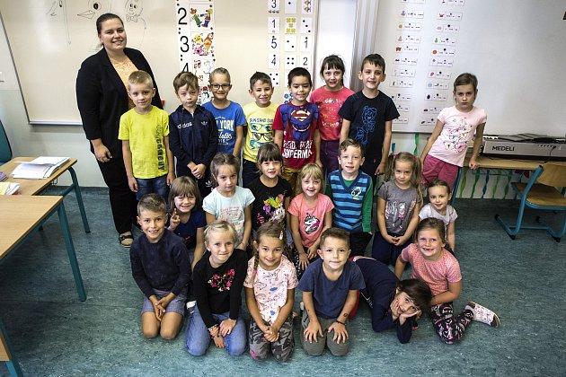 Třída 1.Aspaní učitelkou Kateřinou Radoňovou