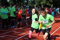 Vítězem se stala štafeta Základní školy TGM, která zvládla maratonskou trať v čase pod dvě hodiny.