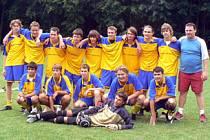 Doroswtenci Slovanu Poděbrady parazili v baráži tým Dymokur 2:0 a přístí rok si zahrají I.A třídu.