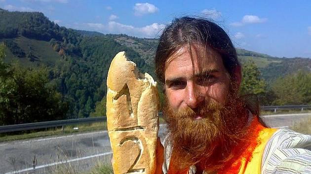 Cestovatel Petr Polák v Srbsku v půli cety