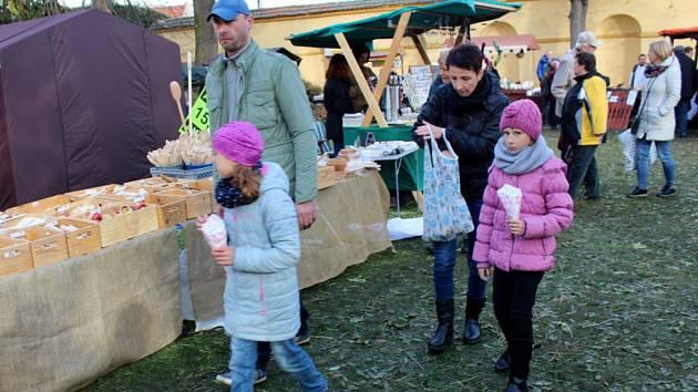 Svatomartinské trhy se konaly v Poděbradech na zámecké zahradě.