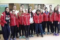 Kanadské basketbalistky na Gymnáziu B. Hrabala