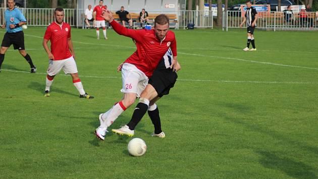 Ze zápasů fotbalistů Ostré v sezoně 2016 - 2017