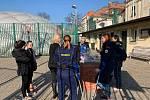 Ze školení rozhodčích, kde asistovali i úspěšní reprezentanti v požárním sportu z Pískové Lhoty.