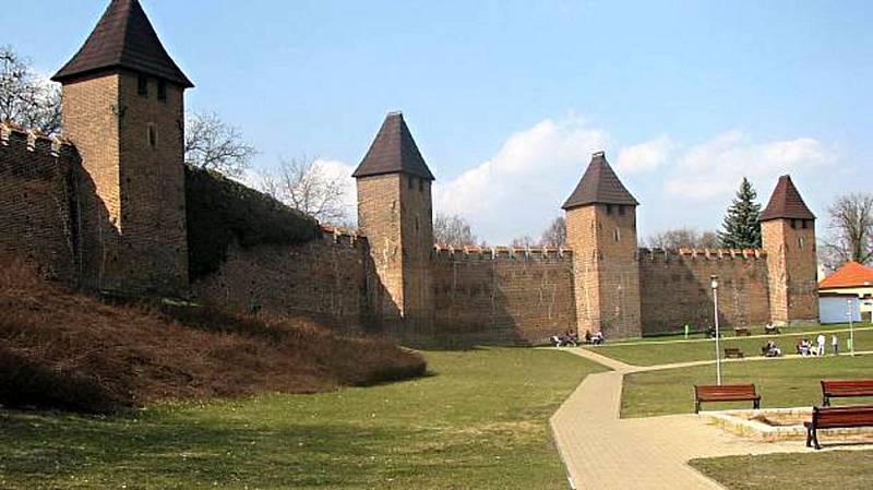 Nymburské hradby.