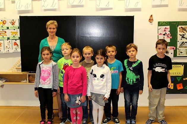 Základní škola Vrbová Lhota, třídní učitelka Michaela Petráková