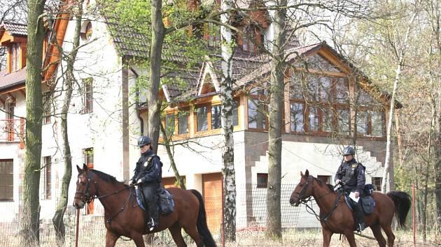 Preventivní akce policie v chatových oblastech