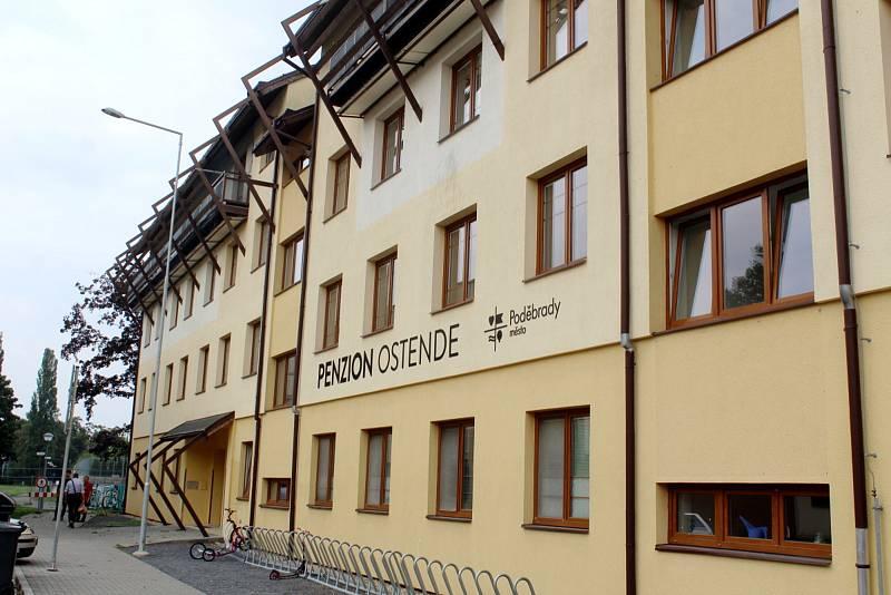 Na Ostende v Poděbradech vzniká malé sportovní centrum.
