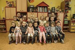 Třída Berušky a paní učitelky Lenka Růžičková a Hana Baštová