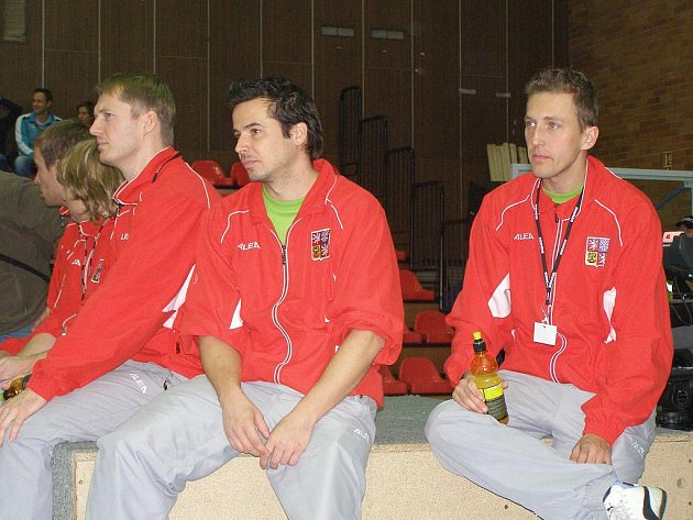 Z mezinárodního nohejbalového turnaje v Nymburce