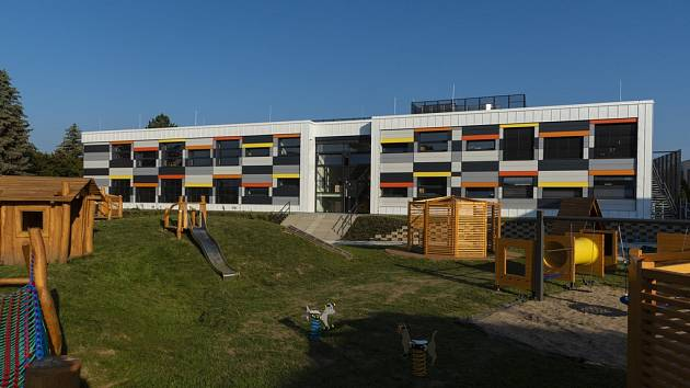 Novostavba Mateřské školy Úsměv v Benešově.