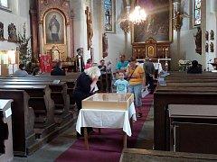 Kostel svaté Markéty v Městci Králové se v pátek večer otevřel dospělým i dětem.