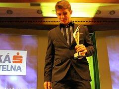 Vítěz v kategorii jednotlivci mládež Jan Zavadil