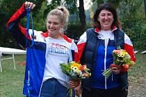 Dana Hůlová získala na mistrovství Evropy bronz. Pro nymburské veslování první