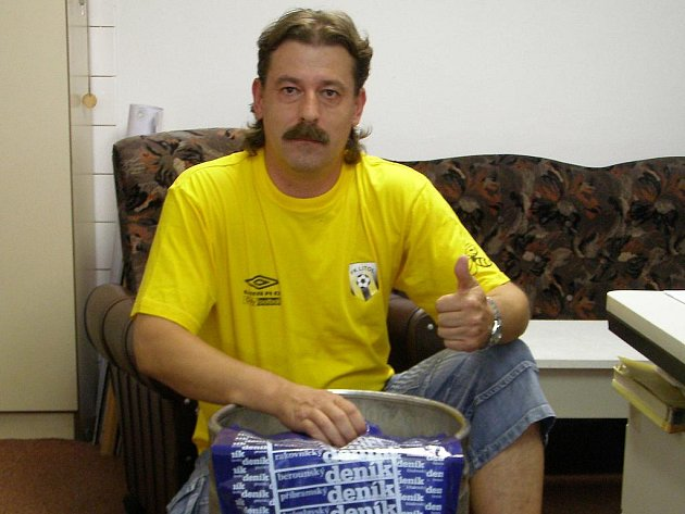 Vítěz Tipligy Jaroslav Holan
