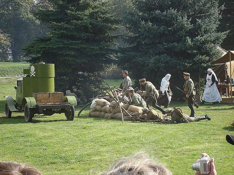 Nymburk zažil bitvu z I. světové války.