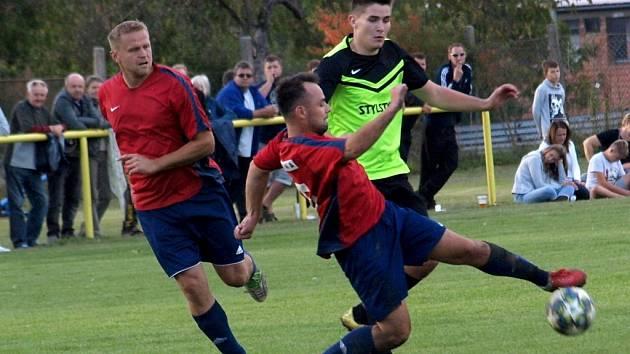 Restart. Fotbalové Kněžice (v červeném) se po roce vrátí na fotbalovou mapu