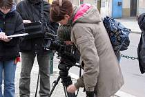 Iva Hüttnerová natáčela v Nymburce Barvy života