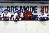 Z hokejového utkání druhé ligy Nymburk - Havlíčkův Brod (0:6)
