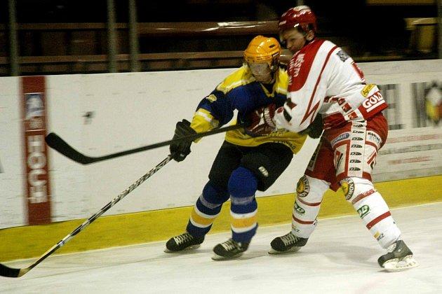 Hokejisté Nymburka dokázali zvítězit na ledě soupeře. Všechny body si přivezli z Jindřichova Hradce