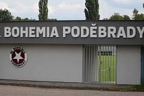 Areál fotbalové Bohemie Poděbrady