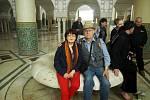 V Maroku přivítala cestovatele Milana Čejku s manželkou téměř zima