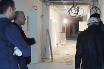Rekonstrukce nymburské nemocnice.Pavilon D.