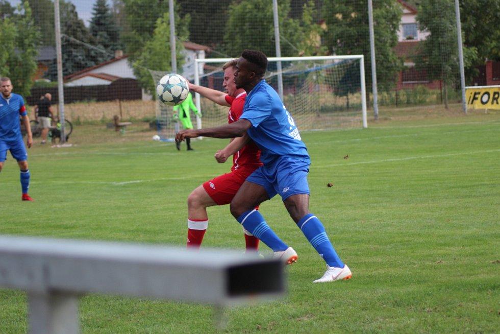 Fotbalisté Velimi si přivezli dva body z Nespek