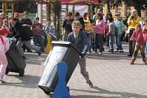 Odpadová olympiáda v Nymburce