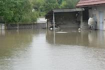 Povodeň ve Vestci. Bez komentáře.
