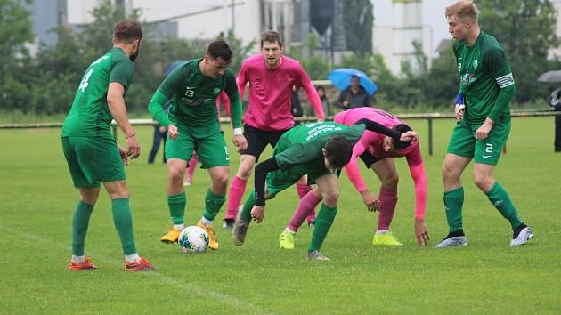 Z fotbalového letního turnaje Pohár Labe Slovan Lysá - Polaban Nymburk (2:4)