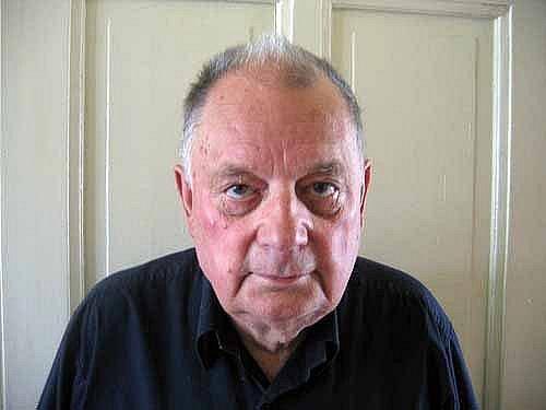 Viktor Boháč při natáčení pro sdružení Post Bellum