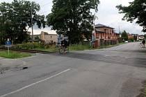 Úsek, v němž by se měl chybějící chodník začít stavět ještě letos.