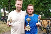Vítězný pár míčového sedmiboje v Sadské Motl - Kyncl