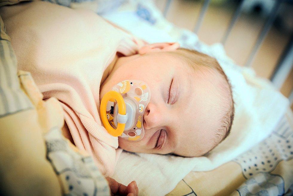 Adéla Spilková, Poděbrady. Narodila se 30. července 2019 v 8.17 hodin, vážila 2 870g a měřila 47 cm. Na holčičku se těšili rodiče Zuzana a Jakub.