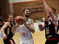 SEMIFINÁLE STARTUJE. Basketbalisté Nymburka se střetnou o postup do finále s celkem Svitav. Série se hraje na čtyři vítězné zápasy. A Nymburk je jasným favoritem.