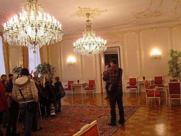Sadští školáci navštívili pražský Hrad