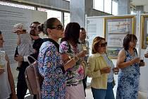 Výstavu je možné navštívit až do 26. srpna v Galerii Ludvíka Kuby u poděbradské kolonády.